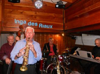 Quartet Les Swinging Papy'S au Club de JAZZ